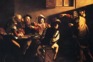 Carvaggio - Calling of St. Matthew