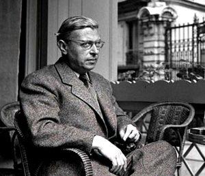 Jean-Paul Sartre. Wikipedia Commons.