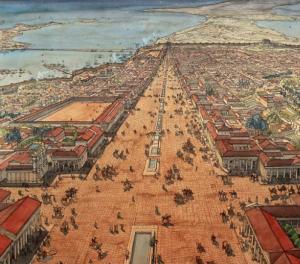 Ancient Alexandria (public domain photo)